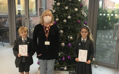 Cheadle Hulme Primary School pupils' Christmas message to elderly neighbours